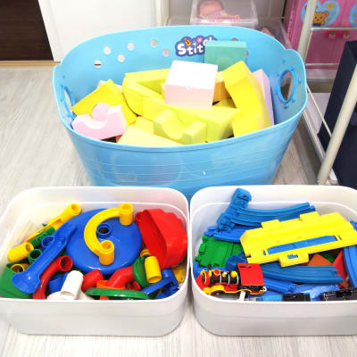 クローゼットにもおもちゃをご用意しています! ご自由にお使いください♪ - KICHIレンタルキッズスペース 子供が主役!のレンタルスペースの設備の写真