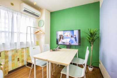 全体のイメージです。 - 会議室「GreenAce2」 貸し会議室の室内の写真