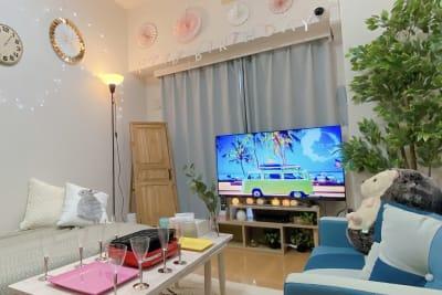 北欧風、ボタニカルなお部屋♪ - Coco Space 川崎駅の室内の写真
