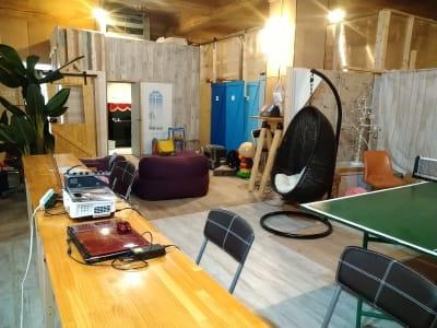 E室 - レンタルスペース夕顔瀬 男性も利用可。全体貸し出しの室内の写真