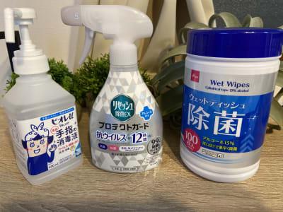 感染対策 - shin新大阪 パーティースペースの室内の写真