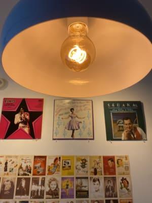 クルクルっとレトロで可愛いエジソンランプ💡 - アメリカンダイナースタジオ戸越 撮影向きレンタルスペースの室内の写真