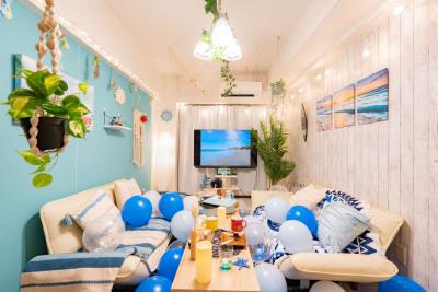 ココリアMarine横浜みらい とってもおしゃれなリゾート空間の室内の写真