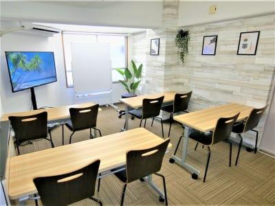 セミナー・研修 - ComfortSpace上野I レンタルスペースの室内の写真