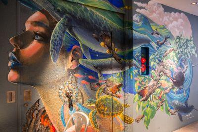 LATTE GRAPHIC自由が丘 【ビュッフェプラン】20名様以上の室内の写真