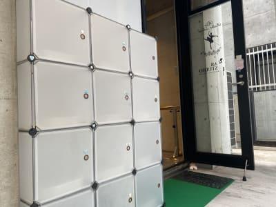 シューズボックス - AR studio 多目的スペースの入口の写真