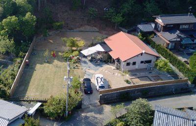 ガーデンハウス 糸島 戸建貸切の入口の写真