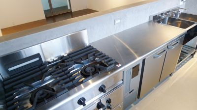 POWDER PLANT  (パウダープラント) キッチン付スペース の設備の写真