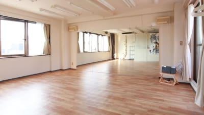 広々40㎡のスタジオです。 - 大宮とらのスタジオ 大宮とらのスタジオ 与野店・3階の室内の写真