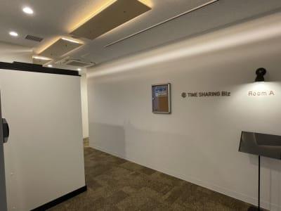 左側のボックスです - テレワークブース品川Ⅱ 高輪エンパイヤビルの室内の写真