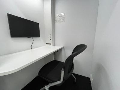 ブース内 - テレワークブース品川Ⅱ 高輪エンパイヤビルの室内の写真