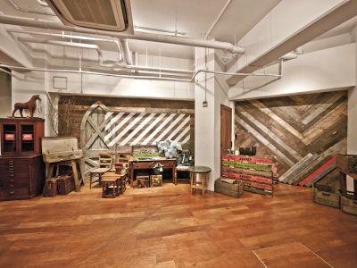 撮影スタジオ theCONTAINER ムービー撮影プランの室内の写真