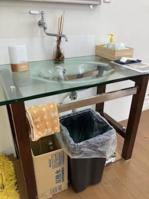 スタジオ内洗面台 給排水が必要な利用に便利です。 - Luna6Fun(ルナ・ファン) レンタルスタジオ&スペースの室内の写真