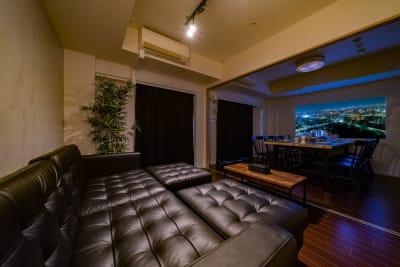 スクエア渋谷 パーティルーム12Fの室内の写真