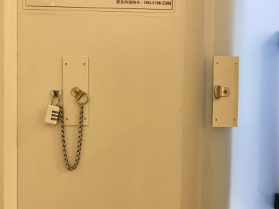 鍵の設置を行いました - テレワークブース品川Ⅱ 高輪エンパイヤビルの室内の写真