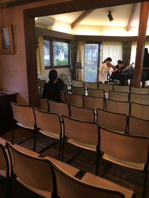 池田コンサートサロン コンサートレンタルホール【60名まで】の設備の写真