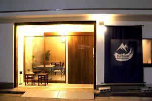 Funtoco Backpack ゲストハウス内レンタルスペースの入口の写真