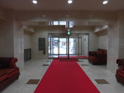 ミサキフォトレンタルスペース レンタルスペースの入口の写真
