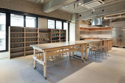 キッチン周辺 - BPM 貸し切りイベントスペースの室内の写真