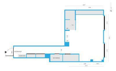 レンタルサロン・スペース「PRENDRE-プランドール-」 レンタルサロン(全面用プラン)の室内の写真
