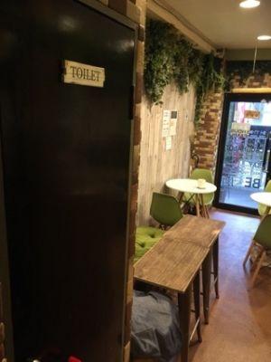 パルサー新宿2階 貸しレンタルオシャレ空間カフェバーの室内の写真