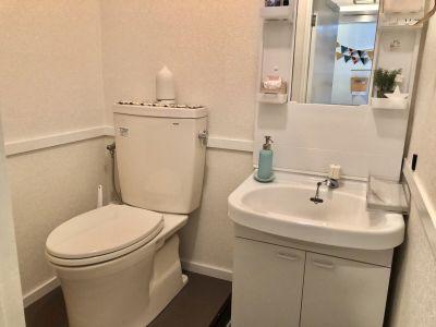 お手洗い - スタートアップカフェ レンタルスペース、レンタルキッチンの設備の写真