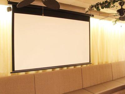名古屋会議室 ELLE HALL Dining 名古屋駅前店 第1会議室(1〜28名)の設備の写真