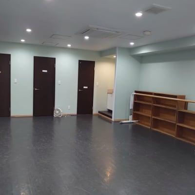 畳20畳分です - スタジオ アーマーズグリーンドア ダンススタジオ・多目的スペースの室内の写真