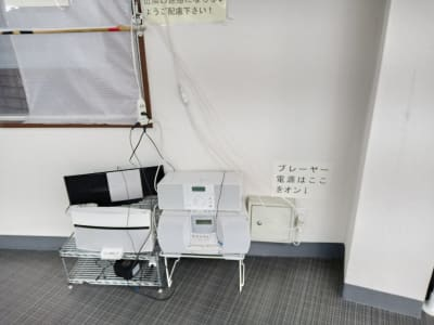 音響機器 - 北千住スタジオk 多目的ルーム, 格闘技道場、教室の設備の写真