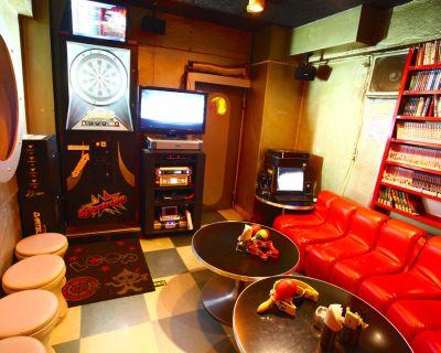 秋葉原パーティースペース LOOP ダーツバー貸切の室内の写真