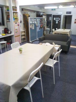 在日コリアン青年連合(KEY) 会議室の室内の写真
