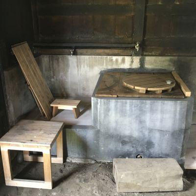 かやぶき古民家 大木邸 多目的スペースの設備の写真