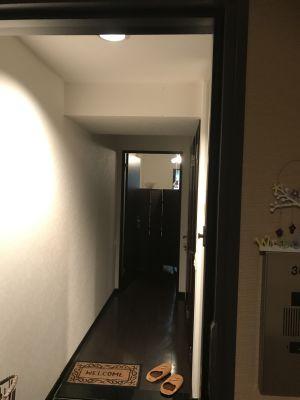 ココカラリセット サロンスペースの入口の写真