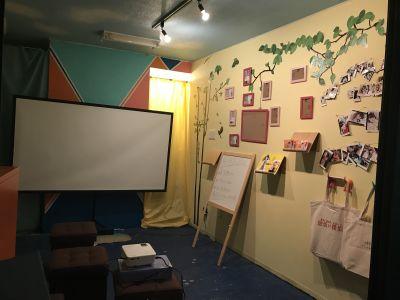 西日暮里リミットスタジオ イベントスペース、路面店の入口の写真