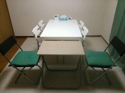テーブルセットイメージ - 西船橋レンタルスペース「カルレクラブ」 個室スペースの室内の写真