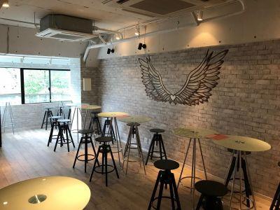 LINK CAFE AOYAMA イベントパーティースペースの室内の写真