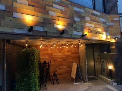 LINK CAFE AOYAMA イベントパーティースペースの入口の写真