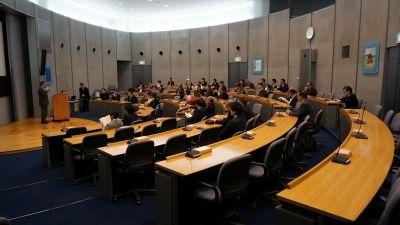AOC会議室、レンタル会議室 貸し会議室の室内の写真
