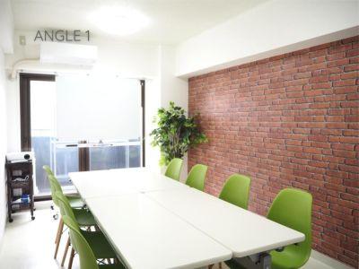 ◆エブリ心斎橋◆お洒落格安会議室 貸会議室、多目的スペースの室内の写真