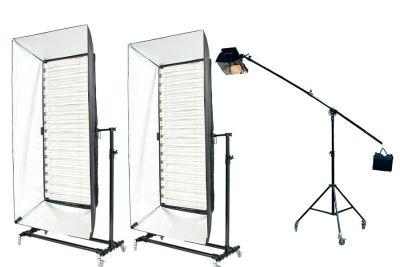 Dスタジオ 常時設置照明 - スタジオポプリ Dスタジオの設備の写真