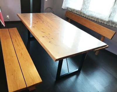大きなテーブルで、カードゲームからワークショップまで多彩なことができます。 - リンゴの木 レンタルスペース レンタルスペースの室内の写真