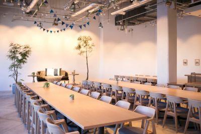 横浜イベントスペース ユニオンハーバー 貸切イベントスペースの室内の写真