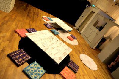 セッティング(例) - 京橋ララサロン メインサロンの室内の写真