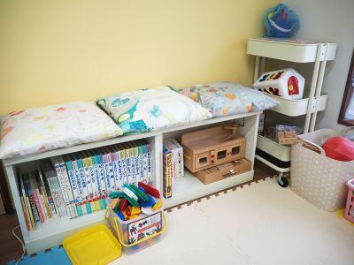 オトナリラボ 多目的スペース(キッズスペース)の室内の写真