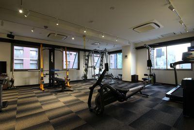 トレーニングスペース梅田北の室内の写真