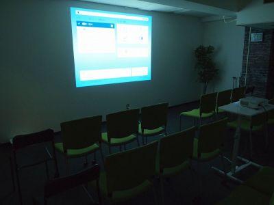 貸し会議室イールーム名古屋駅前B 貸し会議室の設備の写真
