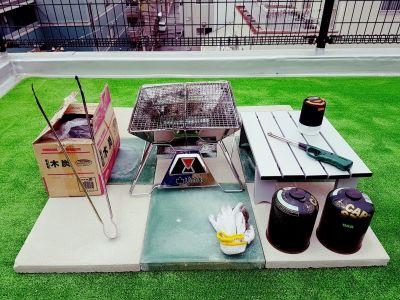 SKHビル SKH BBQキャンプフィールドの室内の写真