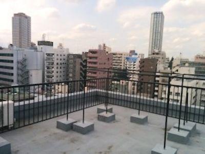 新宿撮影スタジオサロンガイヤール 9階屋上撮影スペース の設備の写真