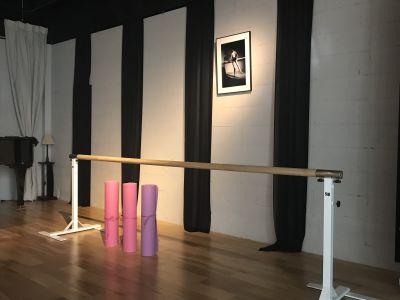 ミレートス 展示会、ホールの設備の写真