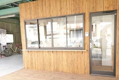 紙cafe Vol.2 紙cafe2の入口の写真